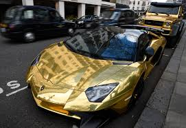 gold cars how london became obsessed with the golden supercars of a saudi
