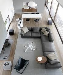 canap gris fonc déco salon 1 amenagement salon 20m2 longueur canape gris fonce d