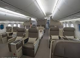Boeing 787 Dreamliner Interior Inside The Dreamliner That U0027s Been Converted Into A Private Jet