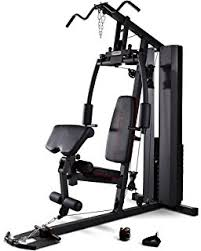 Weider Pro 256 Combo Weight Bench Amazon Com Marcy Pm 20115 Bench With Weight Set 100 Lb