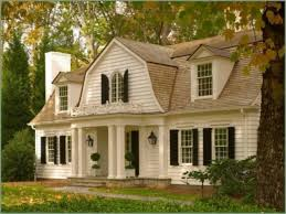 Dutch Colonial Revival House Plans by Dutch Colonial Style Home Plans