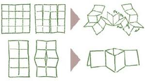 single sheet cut and fold books creative spirit pinterest