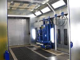 Spray Booth Ventilation System U0026 Large Equipment Booths Downdraft Paint Booths