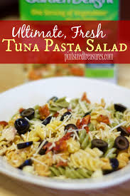 pasta salad with tuna ultimate fresh tuna pasta salad pint sized treasures