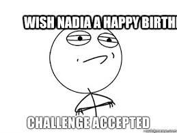 Meme Happy Birthday Card - wish nadia a happy birthday jazzy birthday card quickmeme