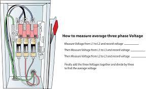 for hvac service technicians three phase voltage measurement