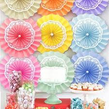 cheap paper fans buy cheap decorative flowers wreaths for big save 820cmtissue
