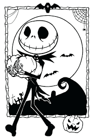 skellington colouring pages captain sparrow coloring free
