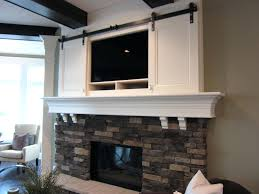 fireplace terrific tv cabinet over fireplace for living ideas tv