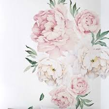 peony flower simpleshapes peony flowers wall decal reviews wayfair