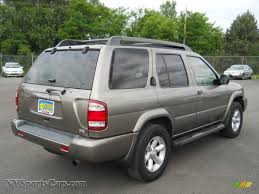 pathfinder nissan 2003 2003 nissan pathfinder se 4x4 in polished pewter metallic photo 2