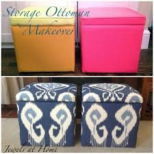 Ikat Storage Ottoman Collection In Diy Storage Ottoman Cube With 22 Best Ottamon Images