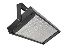 exterior flood lighting commercial image industrial outdoor