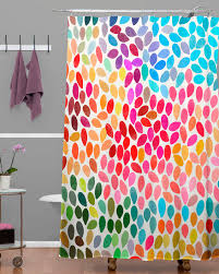 Curtain Colors Inspiration Excellent Multi Color Shower Curtain Maytex Squares Multicolor