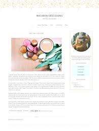 Design Blogger by Blogger Template Simple Watercolor Floral Lavender Blog