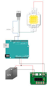 use a 10w led with an arduino henry u0027s bench