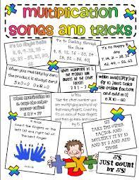 classroom freebies multiplication trick sheet