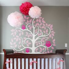 Owl Wall Sticker Tree With Owls Wall Sticker Vinyl Impression