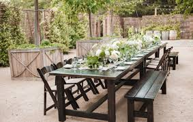 Farm Tables With Benches Rentals Rustic Events