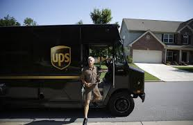 at ups the algorithm is the driver wsj