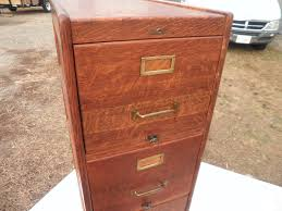 Four Drawer Wood File Cabinet by Antique Shaw Walker 1910 Oak 4 Drw File Cabinet Hampshire