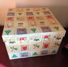 pre wrapped gift boxes christmas décor nesting boxes ebay