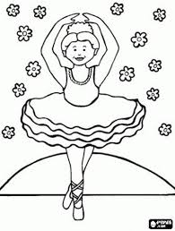 ballet coloring in alltoys for