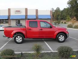 nissan frontier quad cab for sale 2006 nissan frontier se crew cab in red alert 433829 truck n u0027 sale