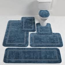 Grey Bathroom Rug by Navy Blue Bath Rugs Target Best Rug 2017