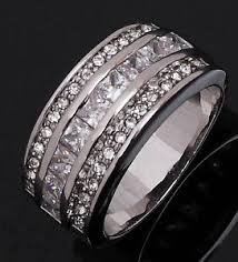 cheap engagement rings for men wedding size 8 men womens nobby white sapphire 10kt gold filled