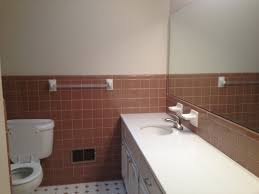 how to work with blah color bathroom tile apartment therapy color ideas to work with 1960s bathroom tile