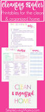 simplify your home with the clean u0026 organized home planner