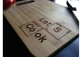 how to engrave a cutting board heisenberg bamboo cutting board laser engraved gift housewarm