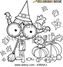 happy cat cartoon for coloring book stock photo royalty free