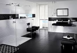 bathroom tile ideas black and white black and white modern bathroom ewdinteriors
