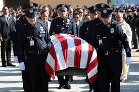 thousands mourn lapd officer nicholas lee lappl los angeles