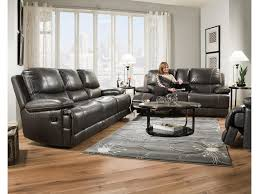 Black Leather Sofa Recliner Furniture Top Grain Leather Reclining Sofa Ashley Leather Sofa