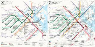 Green Line Map Boston by Can Science Untangle Our Transit Maps Science Friday