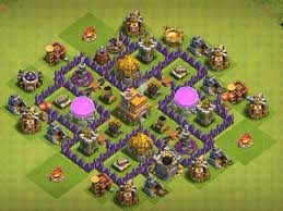 Coc Maps 6 Best Town Hall 6 Defense Bases 2017 Cocbases