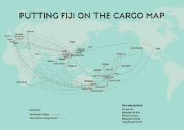 Singapore Airlines Route Map by Fiji Airways Announces New Cargo Interline Deals