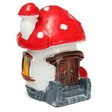 popular miniature garden mushroom house buy cheap miniature garden