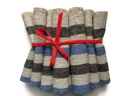 striped linen placemats burlap placemats rustic placemats