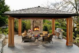 Outdoor Covered Patio by Covered Structures Archives Wagner Design Group Landscape Design