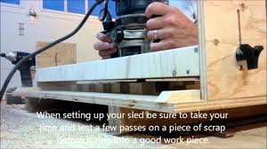 benchtop router sled youtube benchtop router sled