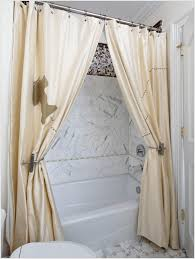 Curtain Holdback Ideas Coffee Tables How To Make Swag Curtains Single Swag Shower