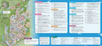 Disney World Epcot Map Walt Disney World Maps For Theme Parks Resorts Transportation