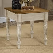 Antique White Desks by Shop Hillsdale Furniture Wilshire Antique White End Table At Lowes Com