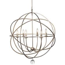 bronze and silver light fixtures eclipse chandelier olde silver from z gallerie 895 overview