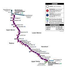 Philadelphia Subway Map Septa Rail Map My Blog