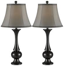 End Table Lamps For Living Room Kenroy Home 21059mbz Abbott 2 Pack Table Lamp Metallic Bronze